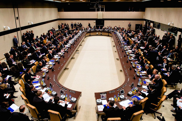 Secretary Kerry Presides Over Meeting of Anti ISIL Coalition Members at NATO Headquarters in Belgium  15749255008