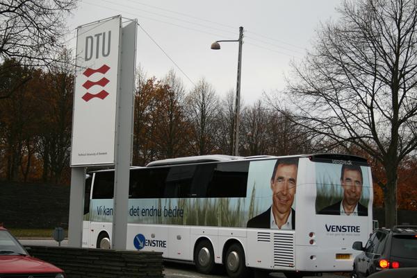 Venstres kampagnebus