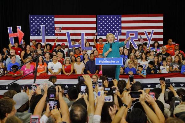 valgkamp pa   amerikansk shutterstock 437484343