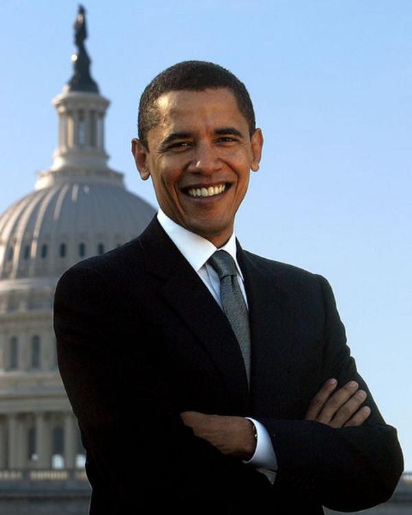 Wikimedia Commons  BarackObamaportrait